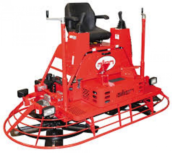 96' ALLEN 1200C RIDE ON POWER TROWEL GAS