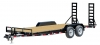 20 FT CAR HAULER TRAILER W/ STAND UP RAMPS BALL HITCH