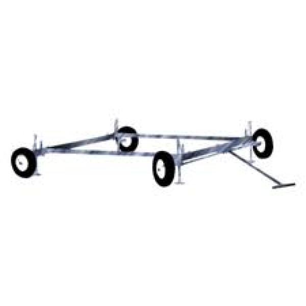 "WAGON SCAFFOLD - 5FT X 7 FT W/12"" WHEELS"