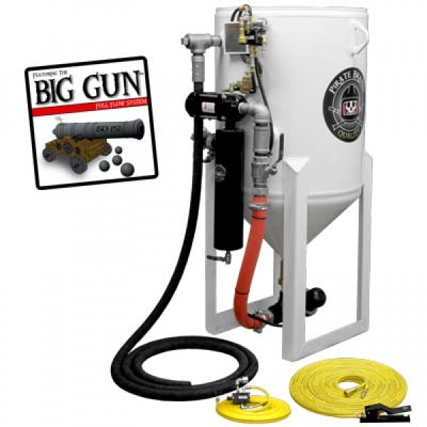 PIRATE SANDBLASTER 3.5 CU FT