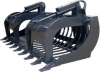 "72"" ROCK SKID STEER GRAPPLE BUCKET"